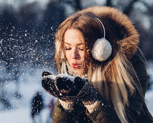 Winter Mood Woman