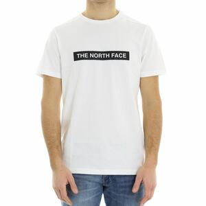 T-SHIRT LOGO THE NORTH FACE BIANCO