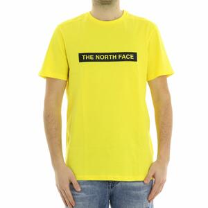 T-SHIRT LOGO THE NORTH FACE GIALLO