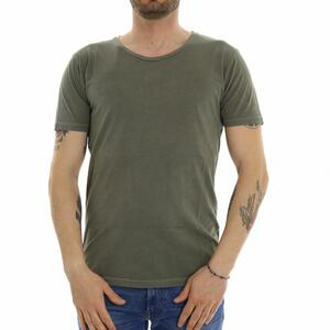 T-SHIRT BASIC REVOLUTION MILITARE