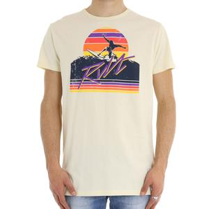 T-SHIRT SURF REVOLUTION BIANCO