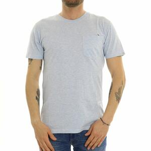 T-SHIRT CON TASCHINO REVOLUTION BLU