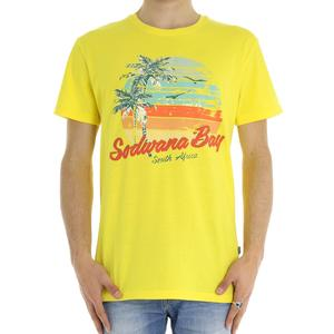 T-SHIRT SOUTH AFRICA SOLID GIALLO