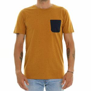 T-SHIRT TASCHINO MARRONE