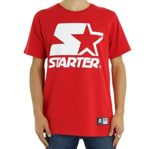 T-SHIRT STAMPA FRONTALE STARTER ROSSO