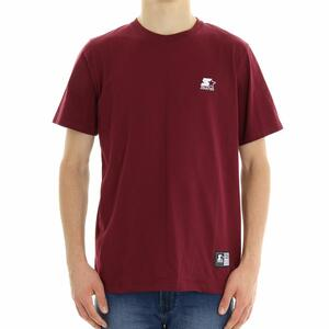 T-SHIRT BASIC RICAMO STARTER BORDEAUX