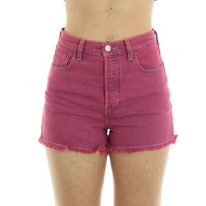 SHORTS COLOR LEVI'S ROSA