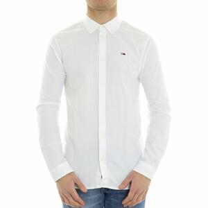 CAMICIA BOTTON DOWN TOMMY JEANS BIANCO