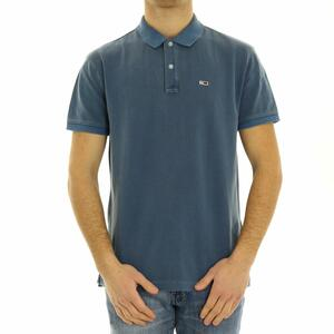 POLO BASIC TOMMY JEANS BLU