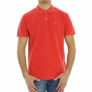 POLO BASIC TOMMY JEANS ROSSO