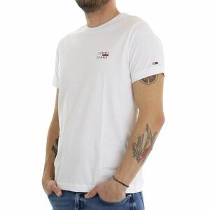 T-SHIRT CHEST LOGO BIANCO