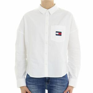 CAMICIA OXFORD TOMMY JEANS BIANCO
