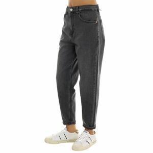 JEANS MOM FIT NERO