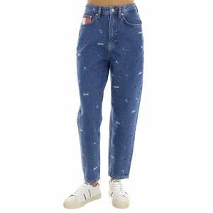 JEANS CON RICAMI TOMMY JEANS BLU