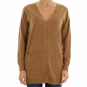 CARDIGAN BASIC HANNY DEEP CARAMELLO