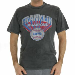 T-SHIRT CHAMPIONS ANTRACITE