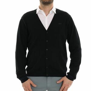 CARDIGAN BASIC NERO