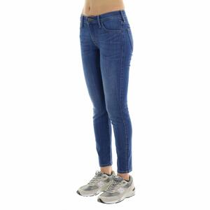 JEANS DONNA SLIM FIT LEE AZZURRO