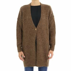 CARDIGAN LUREX KAOS SPA BRONZO