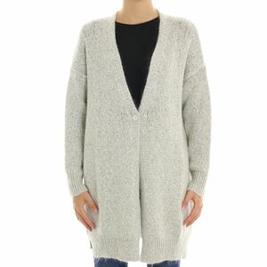 CARDIGAN LUREX KAOS SPA PANNA