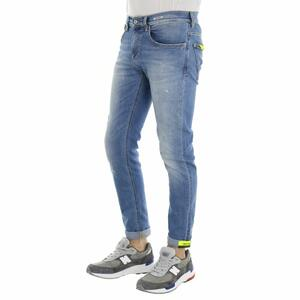 DEAN FIT NORMAL CROTCH SKINNY AZZURRO