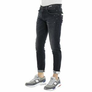 JEANS DEAN NORMAL CROTCH SKINNY UNIFORM NERO