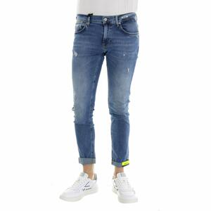 JEANS DEAN NORMAL CROTCH SKINNY BLU