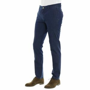 CHINO CHAMBRAY MAISON CLOCHARD BLU