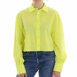 CAMICIA CROP LIME