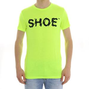 T-SHIRT FLUO SHOESHINE GIALLO