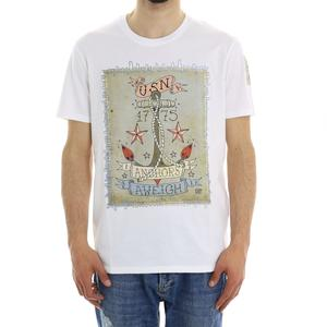 T-SHIRT TATOO L.B.K. BIANCO