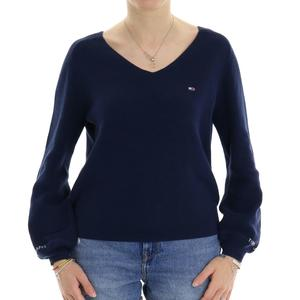 MAGLIA COSTINE TOMMY JEANS BLU
