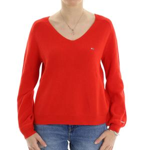 MAGLIA COSTINE TOMMY JEANS ROSSO