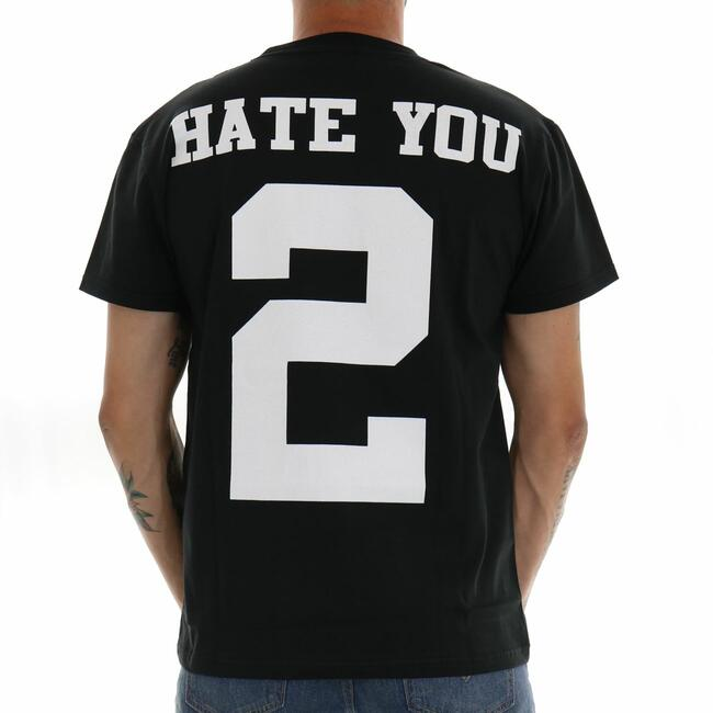 T-SHIRT HATE YOU BERNA - Mad Fashion | img vers.650x/