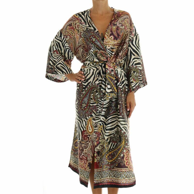 Labe Flock Automatic  Abito kimono VICOLO | Abbigliamento e Scarpe Donna Online | Mad Fashion